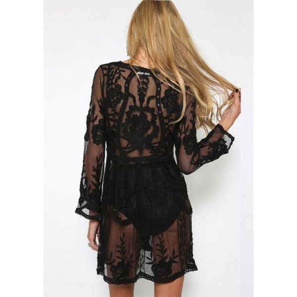 Princess Lace Black Cover-Up